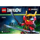 LEGO Nya Set 71216 Instructions