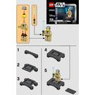 LEGO Obi-Wan Kenobi - Collectable Minifigure Set 30624 Instructions