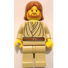 LEGO Obi-Wan Kenobi (Young) with Dark Orange Hair and no Headset Minifigure