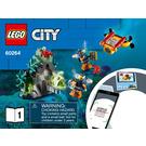 LEGO Ocean Exploration Submarine Set 60264 Instructions