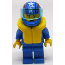 LEGO Octan Racer with Blue Suit Minifigure