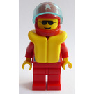 LEGO Octan Racer with Red Suit Minifigure