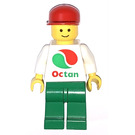 LEGO Octan Worker with White Shirt with Large Octan Logo Minifigure