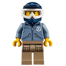 LEGO Off-Road Chase Dirt Bike Male Officer Minifigure