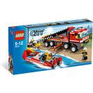 LEGO Off-Road Fire Truck & Fireboat Set 7213 Packaging