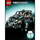 LEGO Off-Roader Set 8297 Instructions