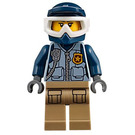 LEGO Officer with Helmet Minifigure