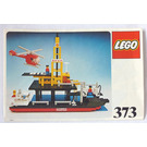 LEGO Offshore Rig with Fuel Tanker Set 373-1 Instructions