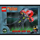 LEGO Ogel Mutant Squid Set 4796 Instructions