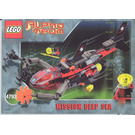 LEGO Ogel Shark Sub Set 4793 Instructions