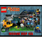 LEGO Ogel Underwater Base and AT Sub Set 4795 Instructions