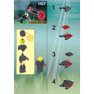 LEGO Ogel Underwater Slizer Set 1427 Instructions
