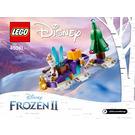 LEGO Olaf's Traveling Sleigh Set 40361 Instructions