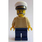 LEGO Old Fishing Store Captain Minifigure