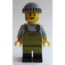 LEGO Old Fishing Store Fisherman Minifigure