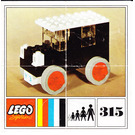LEGO Oldtimer Car Set 315-3 Instructions
