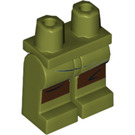LEGO Olive Green Admiral Ematt Minifigure Hips and Legs (37011)