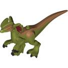 LEGO Olive Green Dilophosaurus Body (53306)