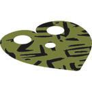 LEGO Olive Green Shoulder Cape (34809)