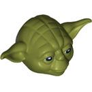 LEGO Olive Green Yoda Head (13824)