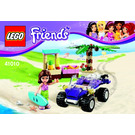 LEGO Olivia's Beach Buggy Set 41010 Instructions