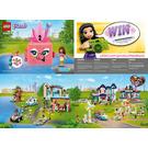 LEGO Olivia's Flamingo Cube Set 41662 Instructions