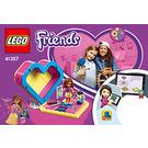 LEGO Olivia's Heart Box Set 41357 Instructions