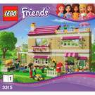LEGO Olivia's House Set 3315 Instructions