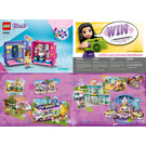 LEGO Olivia's Play Cube - Researcher Set 41402 Instructions