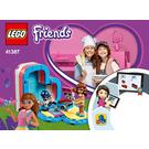 LEGO Olivia's Summer Heart Box Set 41387 Instructions