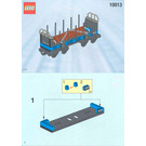 LEGO Open Freight Wagon Set 10013 Instructions