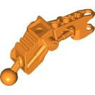 LEGO Orange Arm/leg 1 with ball Cup Ø 10.2 08 (60899)