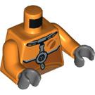 LEGO Orange Astronaut Minifig Torso (76382)