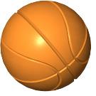 LEGO Orange Basketball (43702)
