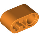 LEGO Orange Beam 1 x 2 with Axle Hole and Pin Hole (40147 / 74695)
