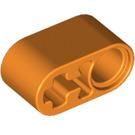 LEGO Orange Beam 1 x 2 with Axle Hole and Pin Hole (74695)