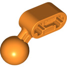 LEGO Orange Beam 2 with Angled Ball Joint (50923)