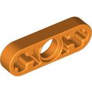 LEGO Orange Beam 3 x 0.5 with Axle Holes (6632 / 65123)