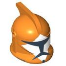 LEGO Orange Bomb Squad Trooper Clone Trooper Helmet with Holes (94147)