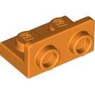 LEGO Orange Bracket 1 x 2 - 1 x 2 Up (99780)