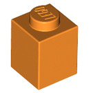 LEGO Orange Brick 1 x 1 (3005)