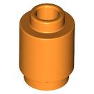 LEGO Orange Brick 1 x 1 Round with Open Stud (3062)