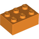 LEGO Orange Brick 2 x 3 (3002)