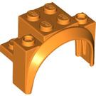 LEGO Orange Brick with Tall Wheel Arch 2 x 4 x 2 1/3 (18974)
