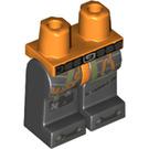 LEGO Orange Chew Toy Minifigure Hips and Legs (38701)