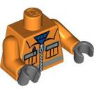 LEGO Orange Construction Worker Minifigure Torso (76382)