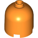 LEGO Orange Cylinder 2 x 2 x 1 & 2/3 with Dome Top and Safety Stud (30151)