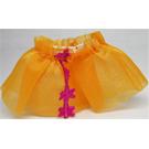 LEGO Orange Duplo Skirt with Magenta Flowers