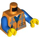 LEGO Orange Emmet Minifig Torso (76382)