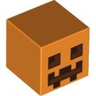 LEGO Orange Figure Head with Minecraft Pumpkin Carving (20054 / 28274)